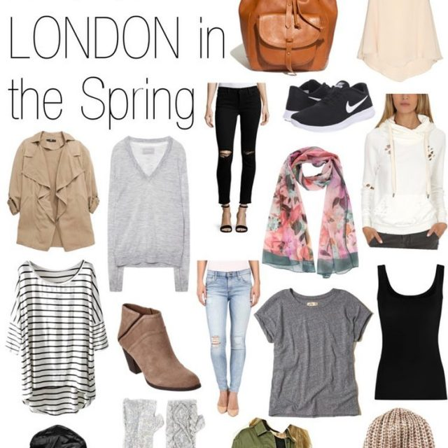 Packing list for NYC amp London in the springtime ishellip