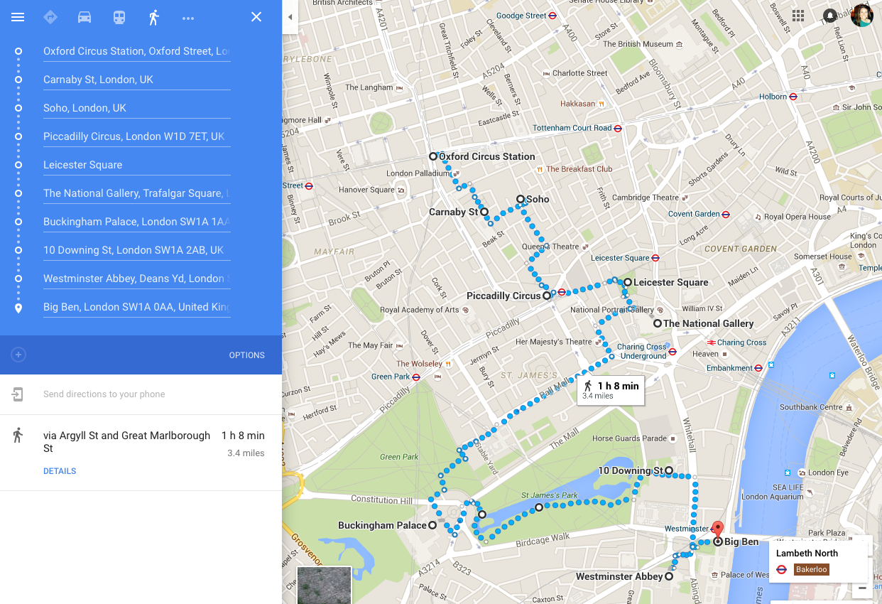 Avec Amour How To See London In 24 Hours Including Maps